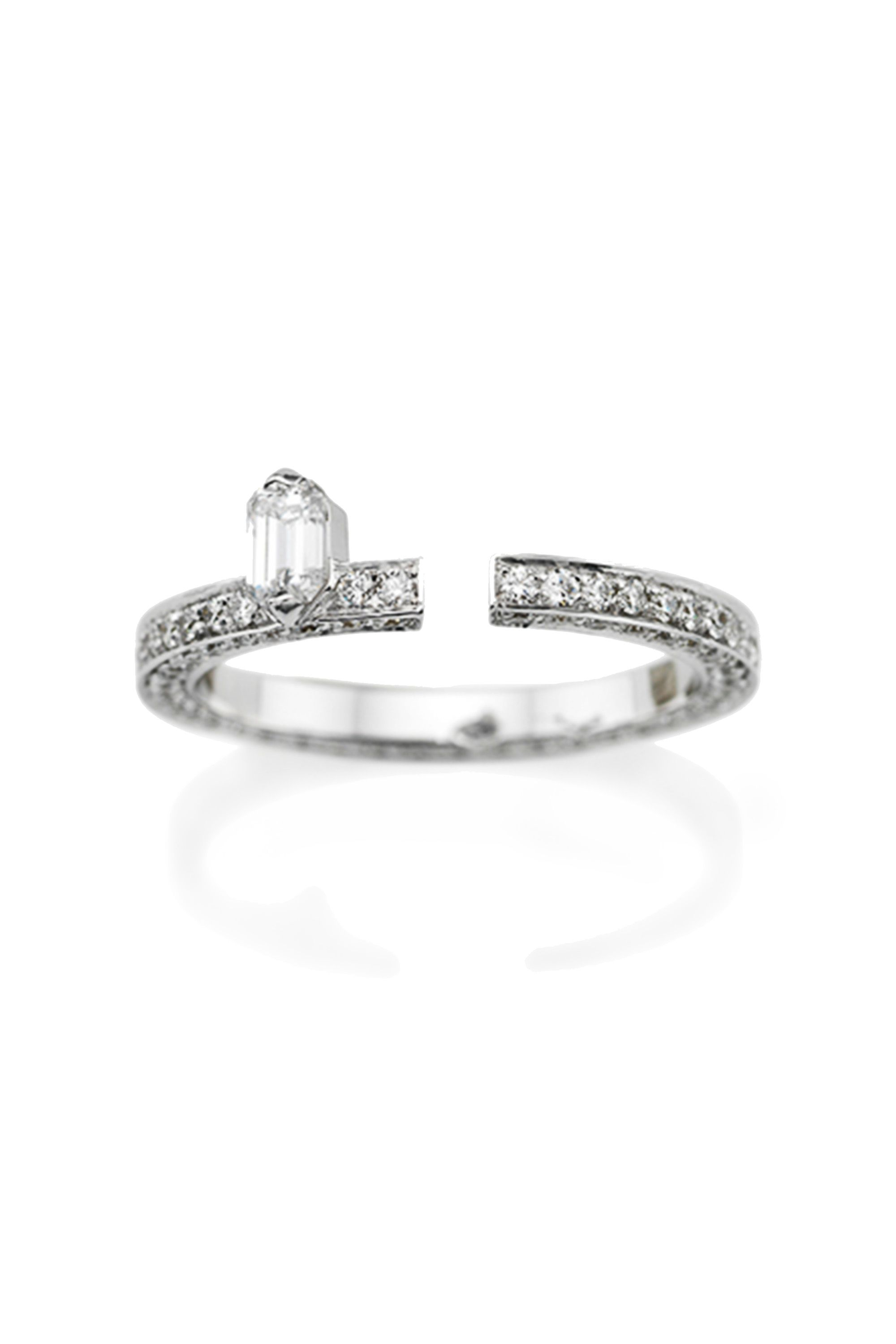 solitaire with luxury rings of bands wedding best go diamond to engagement