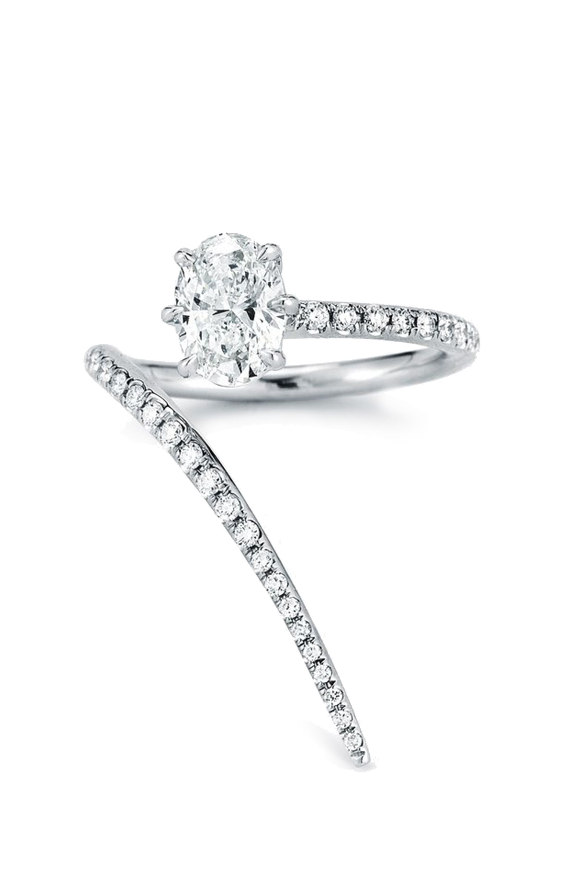 41 unique engagement rings beautiful non diamond and unusual engagement rings - Non Diamond Wedding Rings