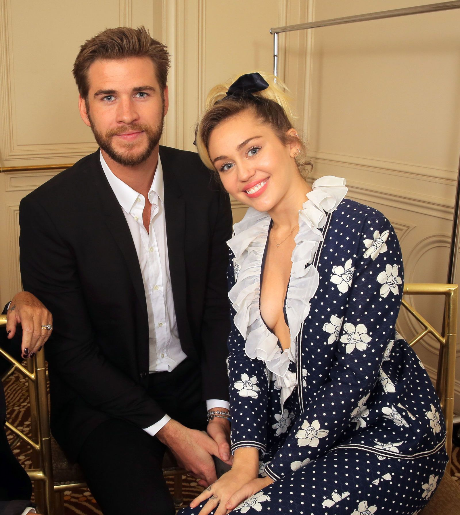 Shutterstock. Liam Hemsworth And Miley Cyrus ...
