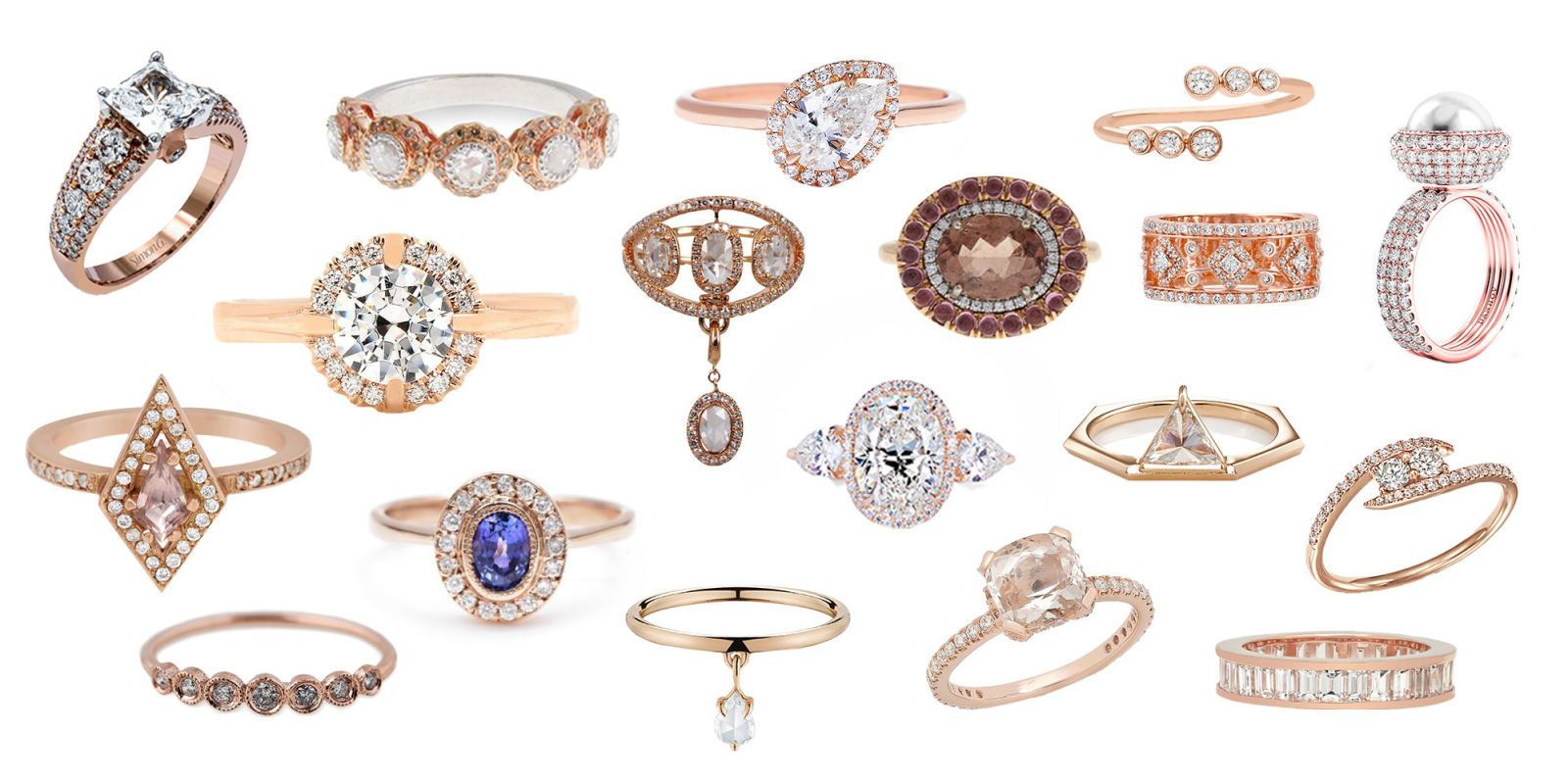 Beautiful Rose Gold Engagement Rings 18 Reasons to Consider a Rose
