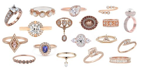 Beautiful Rose Gold Engagement Rings 18 Reasons To Consider A