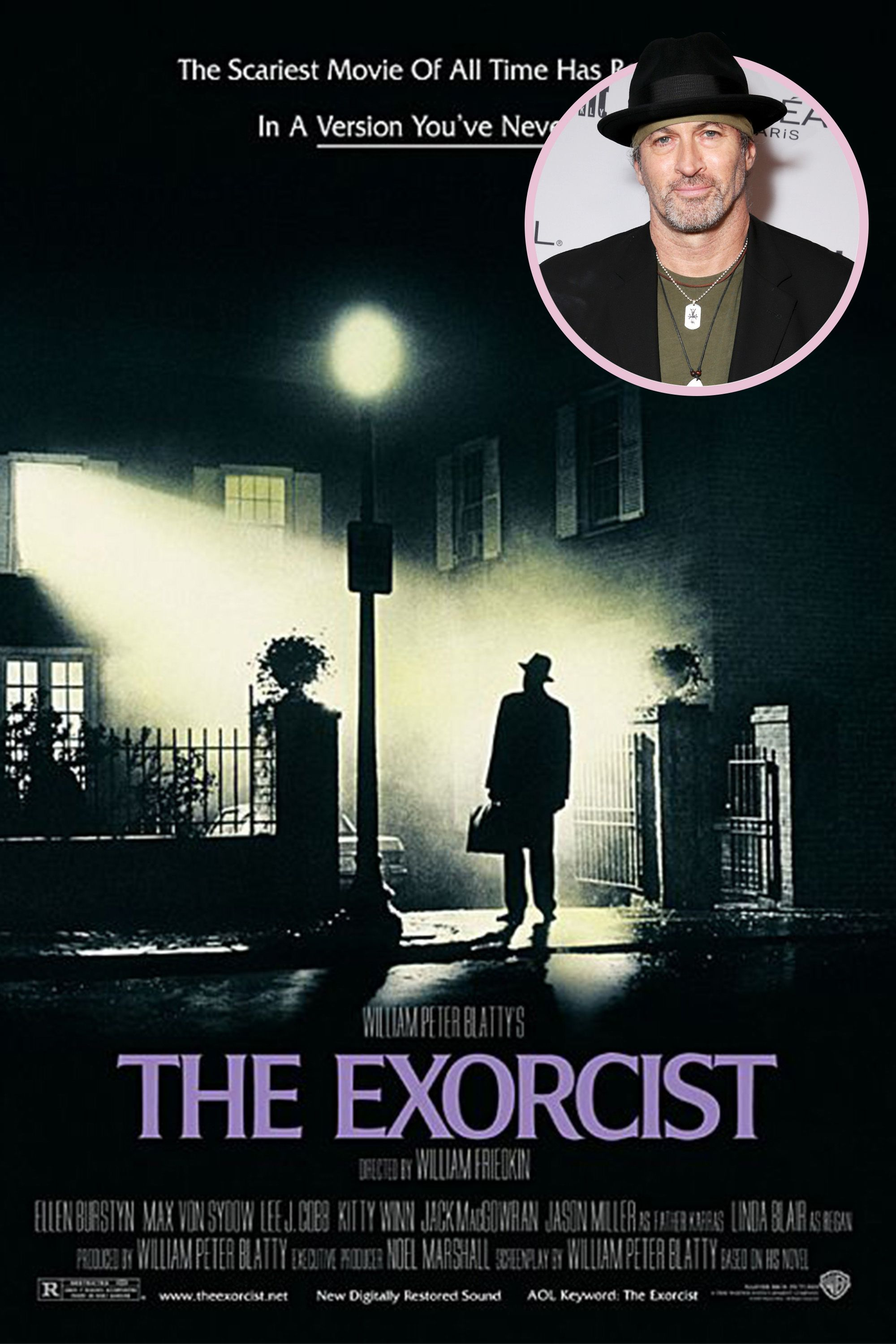"<p>""It was <em data-redactor-tag=""em"" data-verified=""redactor"">The Exorcist</em>. I went to see it the first day it came out. There was no word of mouth yet about how terrifying it was, so me and my buddies just went. I was very, very young. The four of us were just sitting in that theater turning green. We were terrified. We were so freaked out by that film that we actually stayed that night at my friend's house because he was Catholic. We slept downstairs in his den with his German shepherd and we thought we would be protected.""<br></p>"