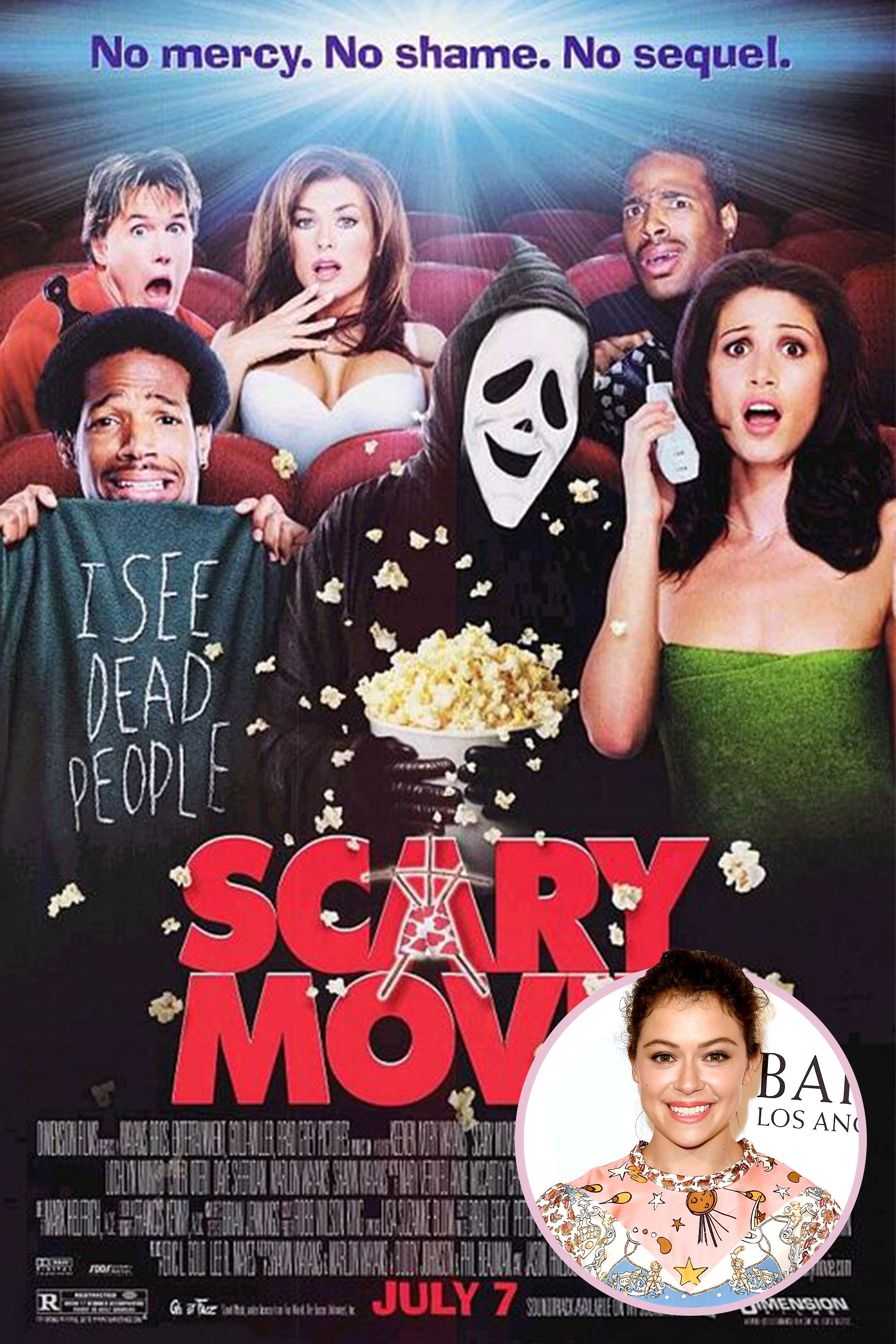 "<p>""It was <em data-redactor-tag=""em"" data-verified=""redactor"">Scary Movie</em> with Anna Faris. I think I saw it ten times. It scared me a little, but it's also funny.""<span id=""selection-marker-1"" class=""redactor-selection-marker"" data-verified=""redactor"" data-redactor-tag=""span"" data-redactor-class=""redactor-selection-marker""></span></p>"