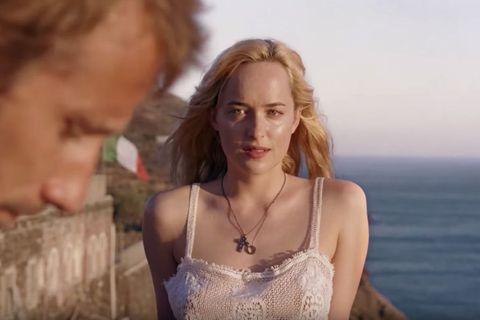 "<p><em data-redactor-tag=""em"" data-verified=""redactor"">A Bigger Splash</em> is a pensive, European-feeling indie that follows Marianne,&nbsp&#x3B;a rock star&nbsp&#x3B;(Tilda Swinton), and her boyfriend as they vacation on an Italian island. They're joined by her ex, Harry (Ralph Fiennes), and his seductive daughter, played by an especially on-point Dakota Johnson, and the latecomers&nbsp&#x3B;disrupt the peaceful summer dynamic. Think&nbsp&#x3B;sex, jealousy, and half-naked bodies laying in the sun&#x3B; ultimately, the sleepy movie becomes something more thrilling. Swinton is always a joy to watch and her musician character here is reminiscent of David Bowie. To say too much more&nbsp&#x3B;would spoil this thoroughly enjoyable film. What we&nbsp&#x3B;<em data-redactor-tag=""em"" data-verified=""redactor"">can</em> tell you is that Fiennes has a dynamite dance scene: You'll never see Voldemort the same way again.</p>"