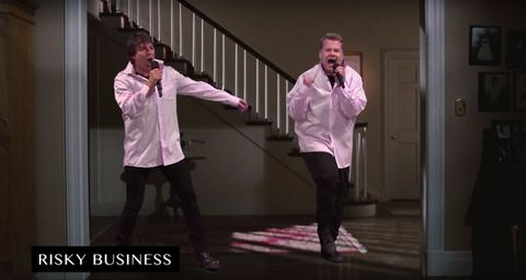 Watch Tom Cruise Recreate His Entire Film Career, With Help From James Corden