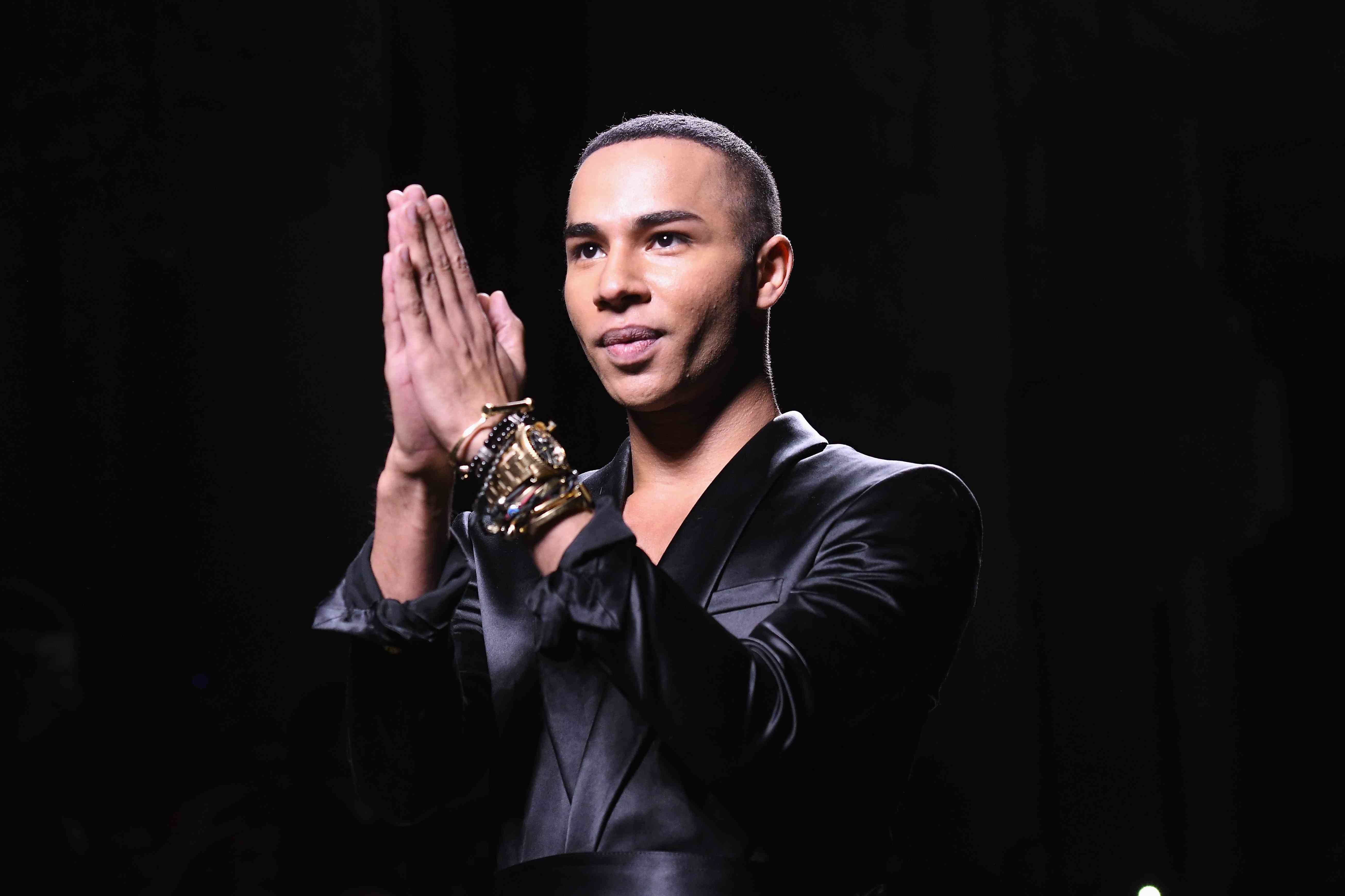 b43ff9100150 Olivier Rousteing Is Not Here for Fashion Shows Without Models of Color