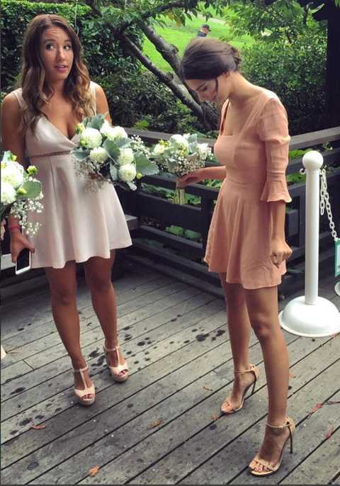 Photograph, Dress, Bride, Ceremony, Wedding, Footwear, Bridal clothing, Formal wear, Bouquet, Floral design,