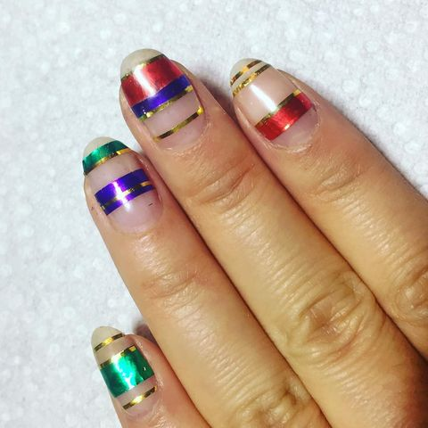 18 cute christmas nail art designs  best holiday