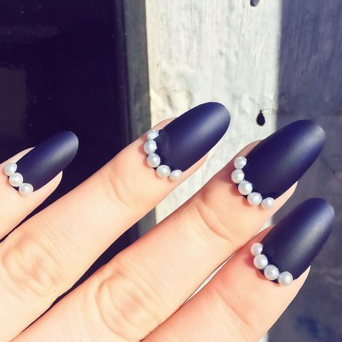 best winter nail designs  25 nail looks to fight away the