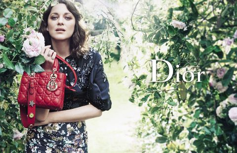 b839555148ae ... there s something refreshingly wonderful about the Lady Dior bag. As  modeled by Marion Cotillard at Christian Dior s childhood home