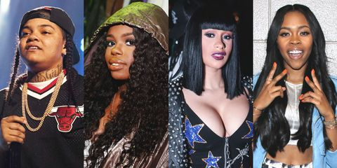 Best New Female Rappers of 2016