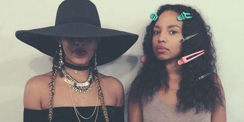 Lip, Hat, Fashion accessory, Style, Headgear, Costume accessory, Beauty, Fashion, Youth, Cool,