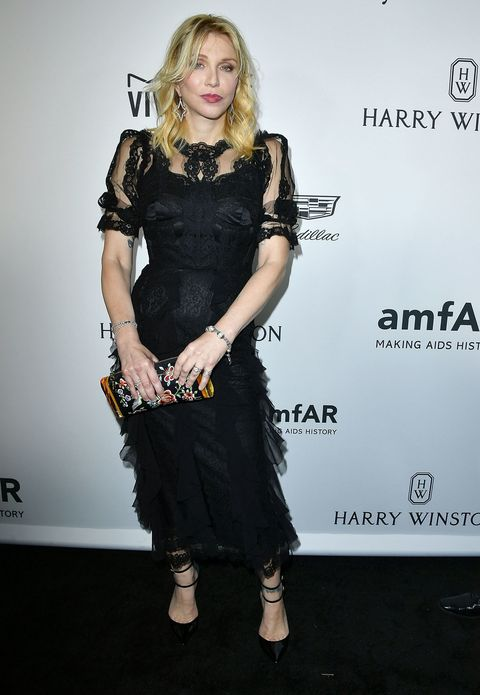 "<p> At amfAR's 'Inspiration Gala' at Milk Studios wearing Tamara Mellon heels&nbsp;in Hollywood on October 27, 2016.&nbsp;</p><p><span class=""redactor-invisible-space"" data-verified=""redactor"" data-redactor-tag=""span"" data-redactor-class=""redactor-invisible-space""></span></p>"