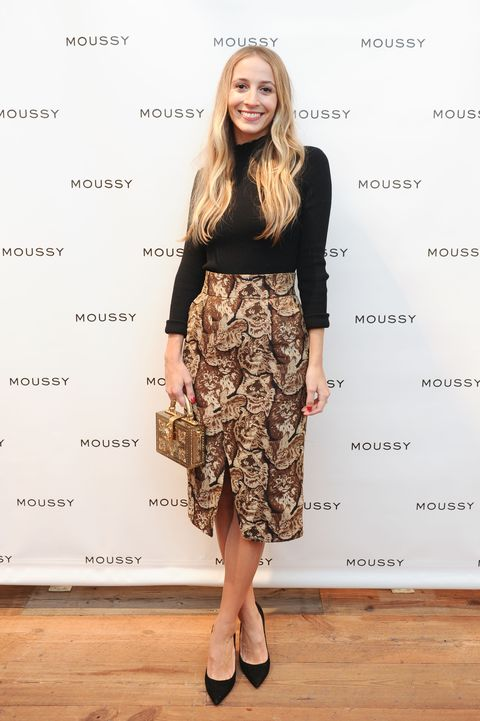 "<p> At the MOUSSY cocktail party in celebration of it's U.S. flagship opening in NYC on October 27, 2016. </p><p><span class=""redactor-invisible-space"" data-verified=""redactor"" data-redactor-tag=""span"" data-redactor-class=""redactor-invisible-space""></span></p>"