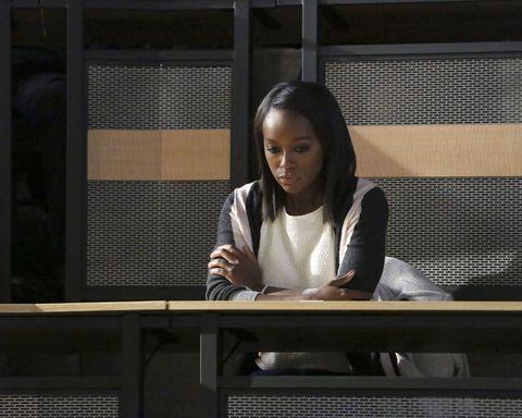 Sitting, Eyelash, Long hair, Employment, Transparent material, Desk, Sweater,