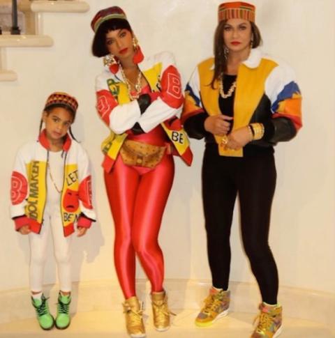 Beyoncé Halloween Costume 2016 - Beyoncé Salt-N-Pepa Costume