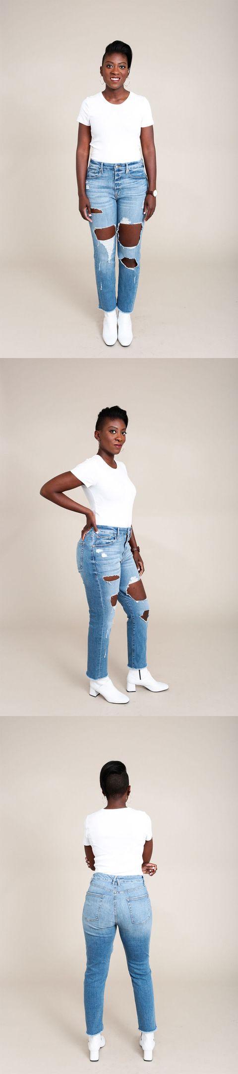 bd1d65039061 Khloe Kardashian Good American Jeans Review - Real Women Try Khloe ...