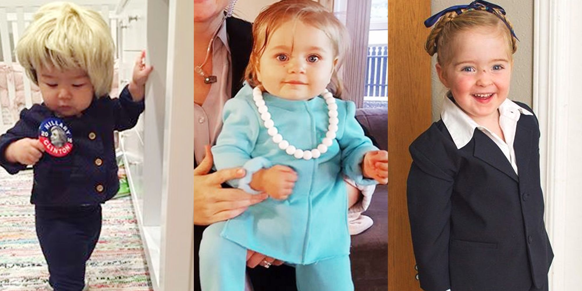 Enjoy These Photos of Adorable, Patriotic Kids in Pantsuits