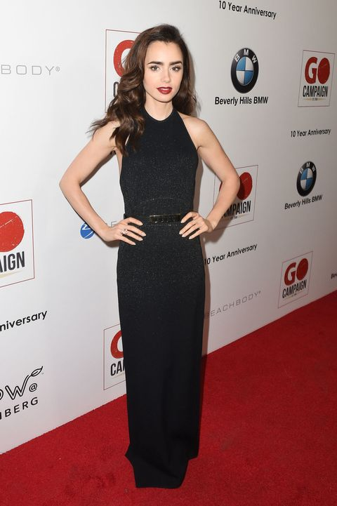 "<p>At the 10th Annual GO Campaign Gala in Los Angeles on November 5, 2016.&nbsp;&nbsp;<span class=""redactor-invisible-space"" data-verified=""redactor"" data-redactor-tag=""span"" data-redactor-class=""redactor-invisible-space""></span></p>"