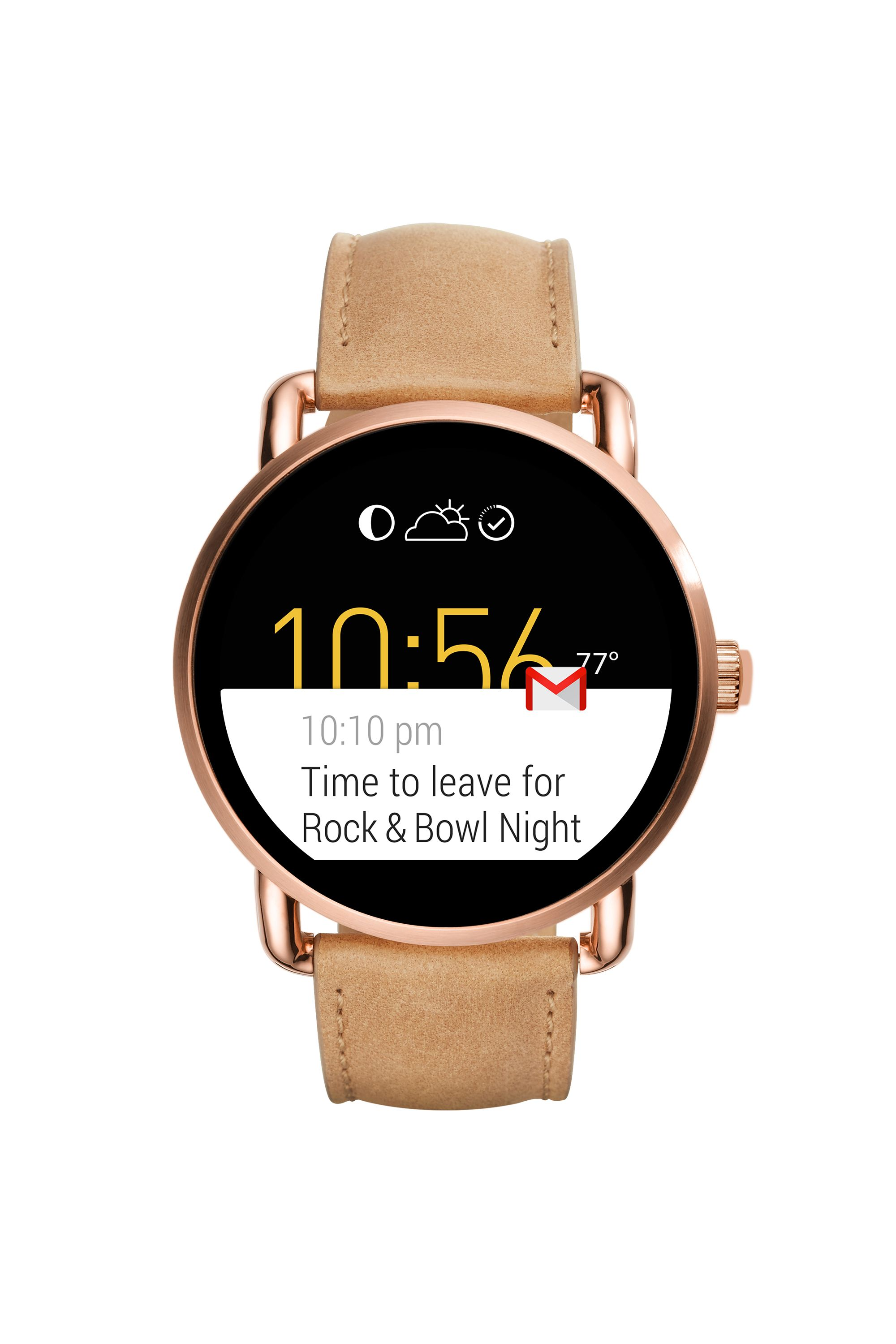 """<p>Leaving your hands bare and vulnerable to harsh weather while swiping around on your phone will feel like a very bad idea, <em data-redactor-tag=""""em"""">quickly</em>. Stay warm by relying on a smartwatch like Fossil's Q instead. While it's got the look of a classic timepiece, it's made for so much more, allowing you to read texts or see calendar notifications at a glance. </p>  <p><span data-redactor-tag=""""span"""" data-verified=""""redactor""""></span><em data-redactor-tag=""""em"""">Fossil Q Wander Touchscreen Light Brown Leather Smartwatch, $295; <a href=""""https://www.fossil.com/us/en/products/q-wander-touchscreen-light-brown-leather-smartwatch-sku-ftw2102p.html"""">fossil.com</a></em> </p>  <p><em data-redactor-tag=""""em""""></em> </p>  <p><em data-redactor-tag=""""em""""></em> </p>  <p><em data-redactor-tag=""""em""""></em><em data-redactor-tag=""""em""""></em></p>"""