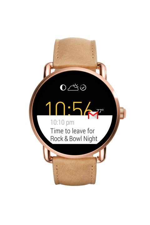 "<p>Leaving your hands bare and vulnerable to harsh weather while swiping around on your phone will feel like a very bad idea, <em data-redactor-tag=""em"">quickly</em>. Stay warm by relying on a smartwatch like Fossil's Q instead. While it's got the look of a classic timepiece, it's made for so much more, allowing you to read texts or see calendar notifications at a glance. </p>  <p><span data-redactor-tag=""span"" data-verified=""redactor""></span><em data-redactor-tag=""em"">Fossil Q Wander Touchscreen Light Brown Leather Smartwatch, $295; <a href=""https://www.fossil.com/us/en/products/q-wander-touchscreen-light-brown-leather-smartwatch-sku-ftw2102p.html"">fossil.com</a></em> </p>  <p><em data-redactor-tag=""em""></em> </p>  <p><em data-redactor-tag=""em""></em> </p>  <p><em data-redactor-tag=""em""></em><em data-redactor-tag=""em""></em></p>"
