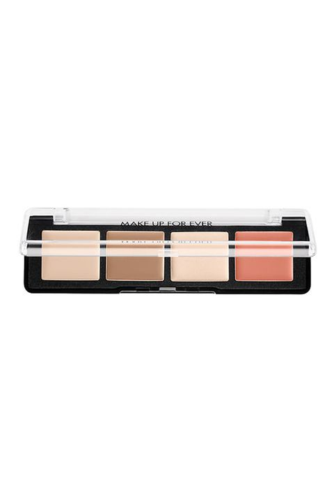 """<p>For an all-in-one product, makeup artist Jaleesa Jaikaran–she's worked for everyone from Jeremy Scott to Zac Posen–always reaches for Make Up For Ever's Pro Sculpting Palette. """"It's versatile and blends seamlessly into the skin. It's a full look in one palette and it has a color for every skin tone, you can contour, color correct and highlight all in one.""""</p><p>Makeup Forever Pro Sculpting Palette, $45, <u data-redactor-tag=""""u""""><a href=""""http://www.sephora.com/pro-sculpting-face-palette-P404776?keyword=Makeup%20Forever%E2%80%99s%20Pro%20Sculpting%20Palette&amp;skuId=1779784&amp;_requestid=58652"""">Sephora.com</a></u></p>"""