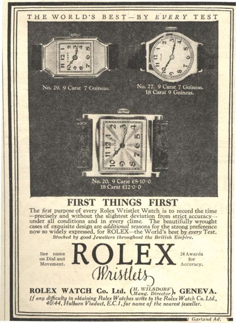 How Rolex Become a Legend - History of Rolex