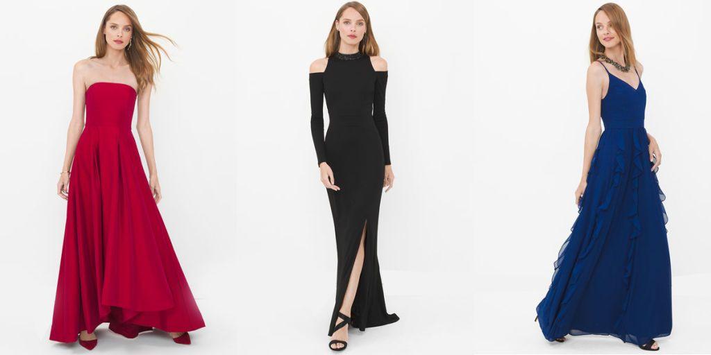 Black cocktail dress for debut