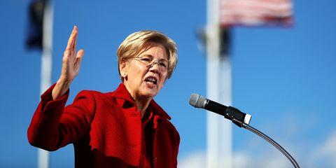 Elizabeth Warren Writes Donald Trump a Letter about His Transition