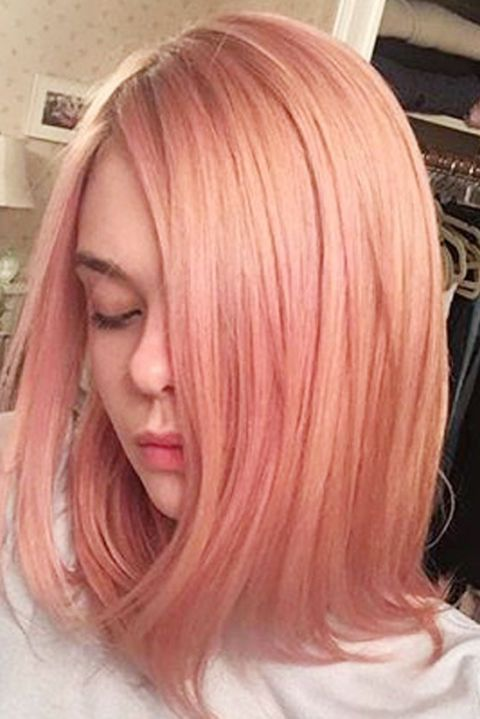 Best Rose Gold Hair Colors 19 Celebs Who Tried Pink Rose Hair