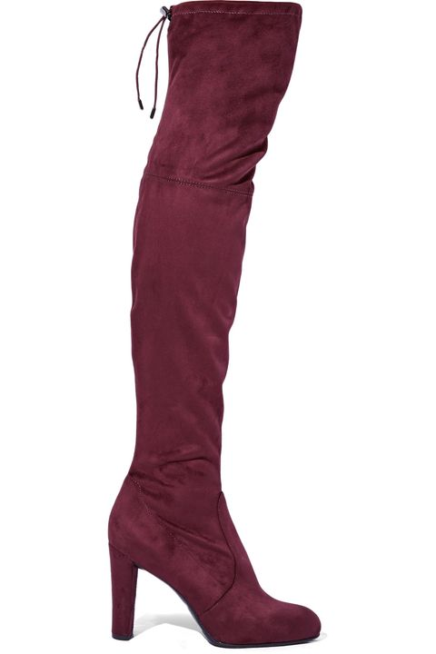 Footwear, Brown, Textile, Red, Boot, Maroon, Carmine, Leather, Tan, Costume accessory,