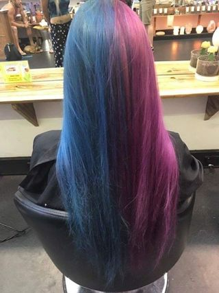 Watch This Girl S Hair Color Change In Two Seconds Hair