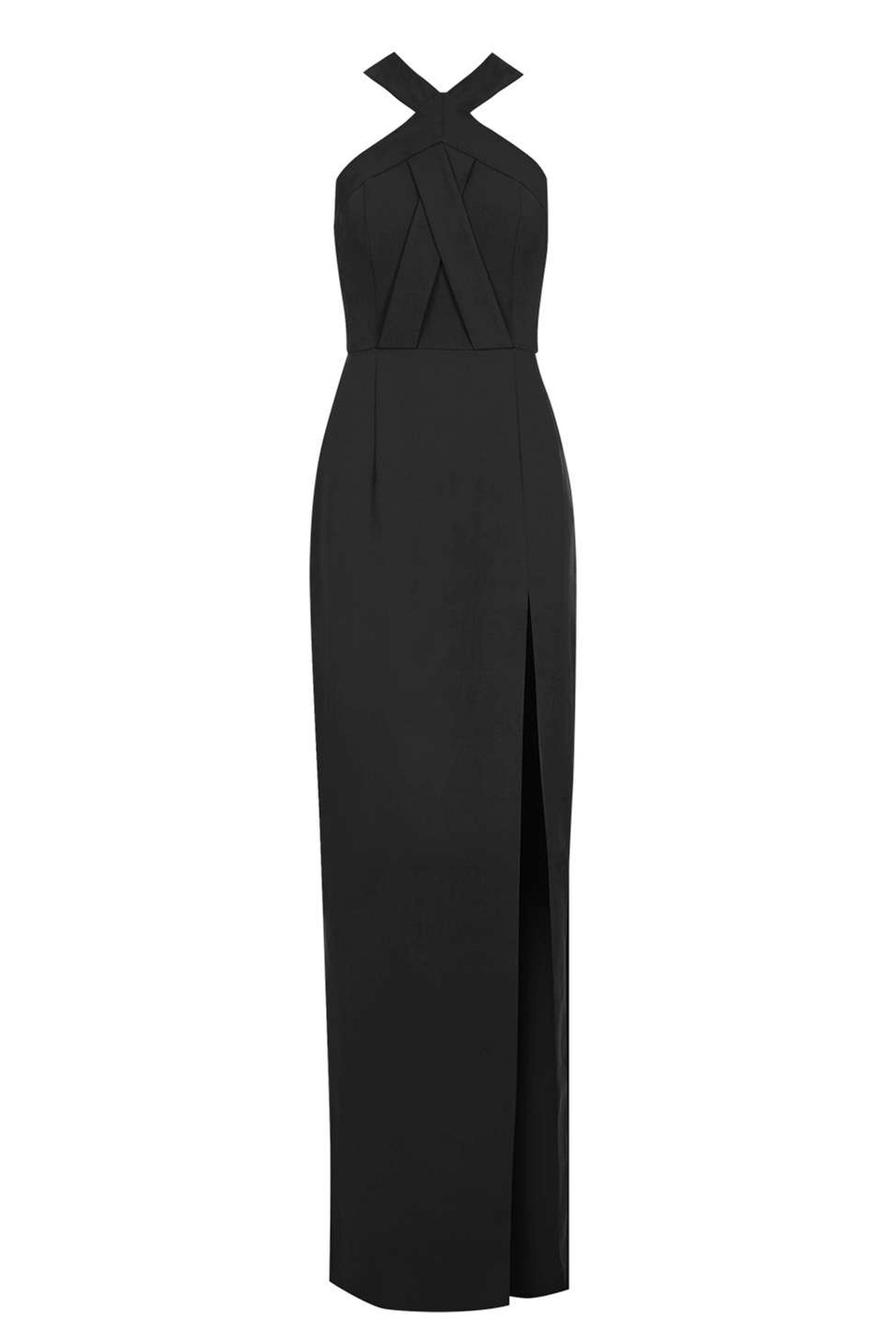 "<p>Topshop Cross Front Maxi Dress, $115; <a href=""http://us.topshop.com/en/tsus/product/clothing-70483/dresses-70497/oix-fnt-split-ring-5974244?bi=160&ps=20"" target=""_blank"">topshop.com</a></p>"