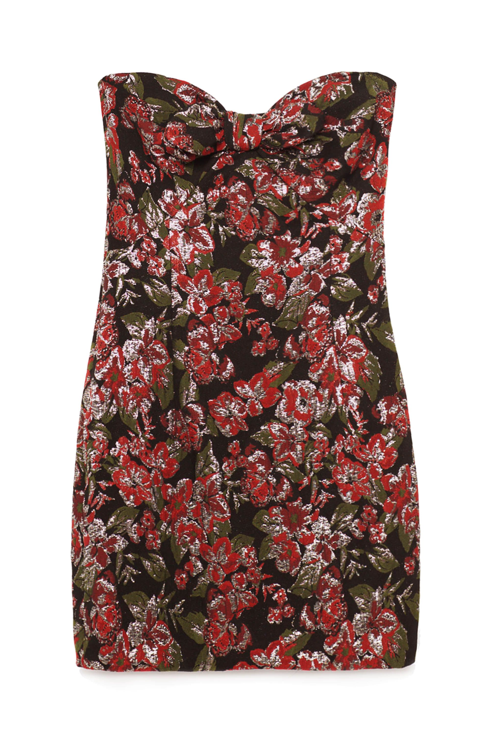 "<p>Zara Jacquard Mini Dress, $70; <a href=""http://www.zara.com/us/en/woman/dresses/jacquard-mini-dress-c269185p3919038.html"" target=""_blank"">zara.com</a></p>"