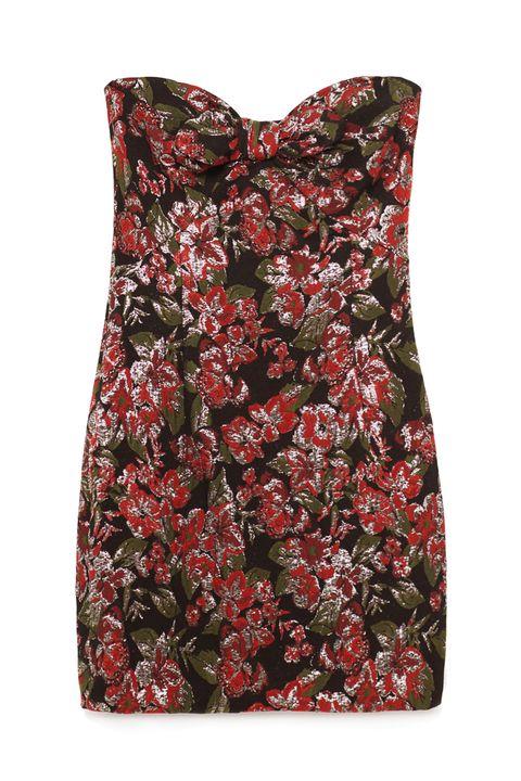"<p>Zara Jacquard Mini Dress, $70; <a href=""http://www.zara.com/us/en/woman/dresses/jacquard-mini-dress-c269185p3919038.html"" target=""_blank"">zara.com</a></p>"