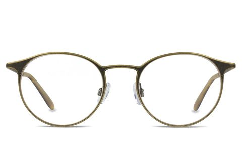 Eyewear, Glasses, Vision care, Line, Transparent material, Tints and shades, Eye glass accessory, Tan, Circle, Silver,