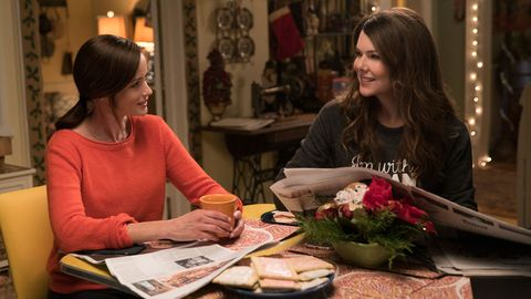 """<p>When we heard that a <em data-redactor-tag=""""em"""" data-verified=""""redactor"""">Gilmore Girls</em> reboot was happening this year, we couldn't believe it. But, Netflix blessed us with another four episodes, which ended with four words that have us begging for a second season.</p>"""