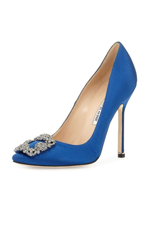 22ef784a287a Modern Blue Wedding Shoes - 15 Wedding Heels and Flats for Your ...