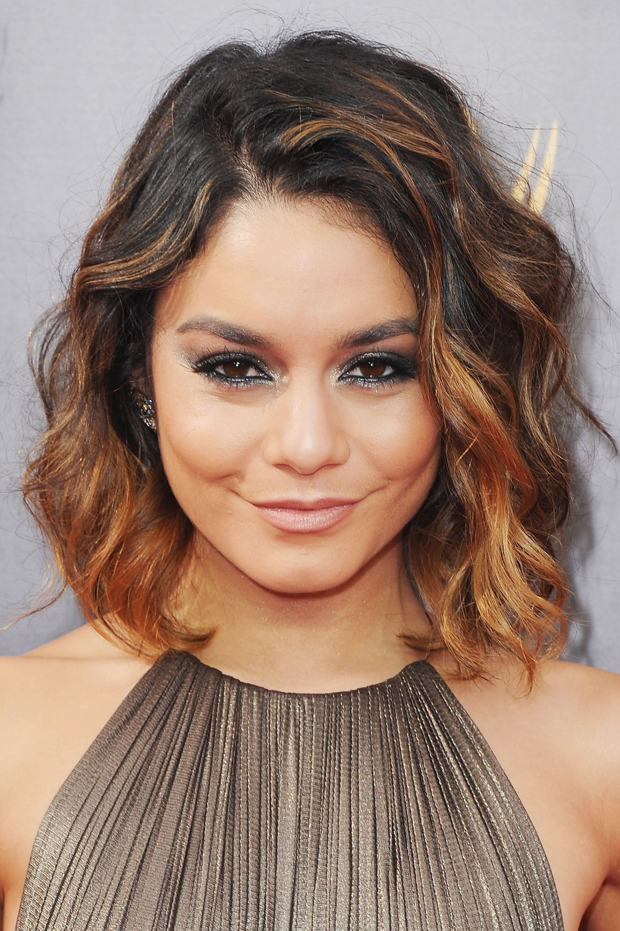 vanessa hudgens short ombre hair best short hair styles