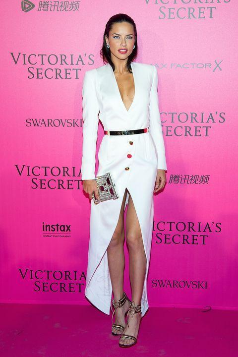 Human, Shoulder, Pink, Style, Fashion accessory, Fashion model, Magenta, Eyelash, Fashion, Sandal,