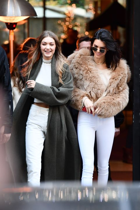Kendall Jenner And Gigi Hadid Twin Moments Kengi Matching Outfits