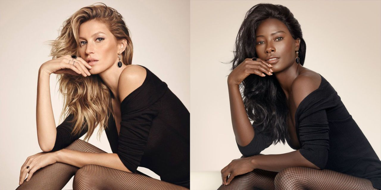 This African Model Re-Created Famous Campaigns to Push for More Diversity in Fashion