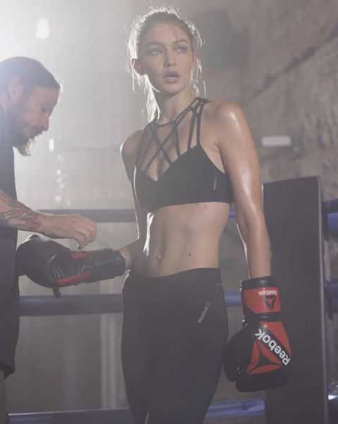 """<p>What's old is new again, at least when it comes to fitness. Boxing was (surprisingly) one of the trendiest workouts this year, thanks in part to supermodels like Gigi Hadid who love how it keeps them lean but toned. In New York City, models and non-models alike flock to <a href=""""http://gothamgymnyc.com/"""" target=""""_blank"""" data-tracking-id=""""recirc-text-link"""">Gotham Gym</a> (where Hadid and her sister Bella train).</p>"""