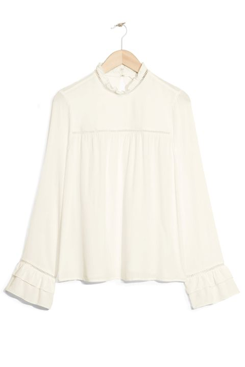 "<p>&amp; Other Stories Frilled Blouse, $65; <a href=""  http://www.stories.com/us/Ready-to-wear/Tops/Frilled_Blouse/582942-104541390.1"" data-tracking-id=""recirc-text-link"">stories.com</a></p>"
