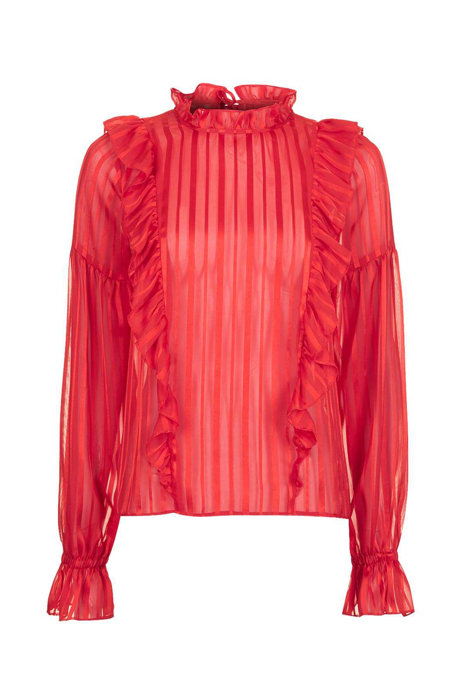 "<p>Topshop Stripe Ruffle Blouse, $65; <a href="" http://us.topshop.com/en/tsus/product/clothing-70483/tops-70498/stripe-ruffle-blouse-6036379?bi=40&ps=20"" data-tracking-id=""recirc-text-link"">topshop.com</a></p>"