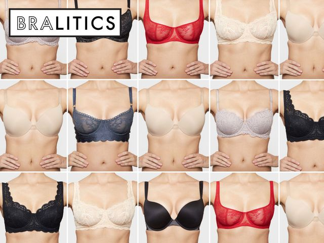 7c32f901f6 How 10 Bras in the Same Size Actually Fit