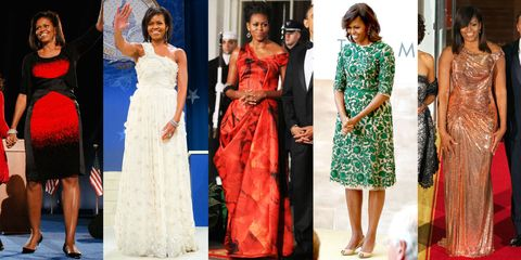 0044bd83485 Michelle Obama s Best Outfits - 47 First Lady Fashion Moments From ...