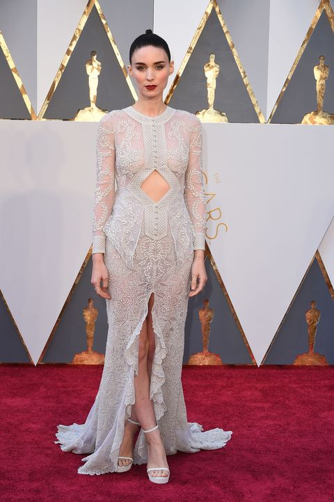 P Complicated Visually Arresting Gowns Are Rooney Mara S Thing And She Didn