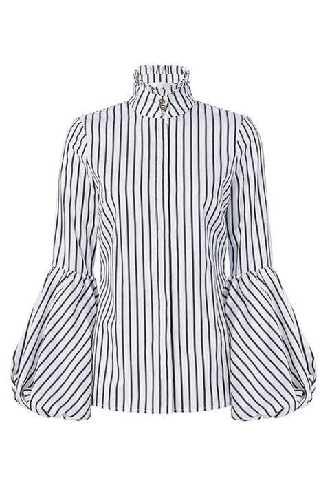 "<p>Caroline Constas Jacqueline Striped Blouson Sleeved Shirt, $349; <a href="" https://www.intermixonline.com/product/caroline+constas+jaqueline+striped+blouson+sleeve+shirt.do?mkwid=&amp;gclid=Cj0KEQiA7K7CBRCrwt26v5uHs98BEiQA0JzsZ8Wkmj6CBOpazzwne6FiK9mw4oz10UM3PF0CvsuFGVYaAgQT8P8HAQ"" data-tracking-id=""recirc-text-link"">intermixonline.com</a></p>"