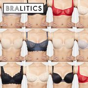 Clothing, Skin, Brassiere, Red, White, Undergarment, Pink, Swimsuit bottom, Beauty, Lingerie,